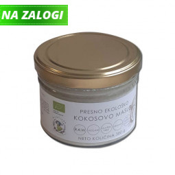 Presno ekološko kokosovo maslo, 380 ml