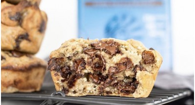 Proteinski muffini iz 5 sestavin (veganski, brez glutena, paleo)