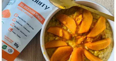 Ovsena kaša z vitaminom C