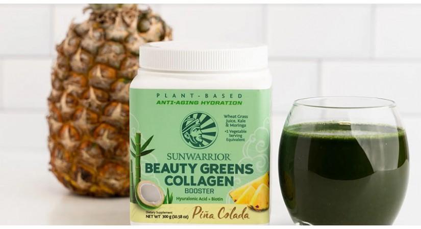 5 lepotnih koristi veganskega Beauty Greens kolagen boosterja