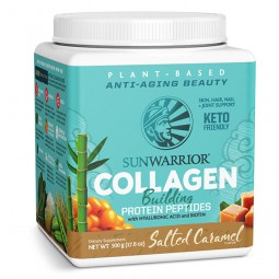 Sunwarrior rastlinski kolagen gradniki, okus slana karamela – prehransko dopolnilo, 500 g