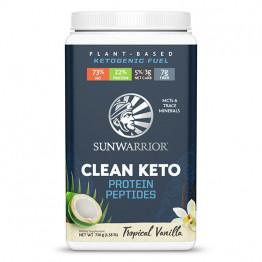 Sunwarrior veganski keto proteini - okus vanilije, 720 g