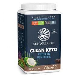 Sunwarrior veganski keto proteini - okus čokolade, 720 g