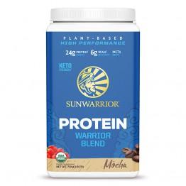 Sunwarrior Warrior Blend rastlinski proteini - Mocha, 750 g