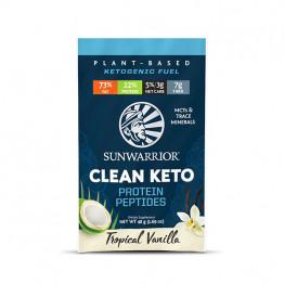 Sunwarrior veganski keto proteini vanilija - malo pakiranje v vrečki, 48 g