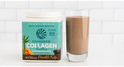 Ledena kava s kolagenom z okusom čokolade ali vanilije