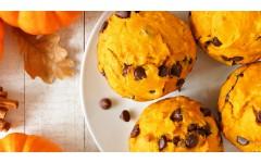 Bučni muffini s čokolado