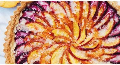 Recept za slivovo in breskovo pito brez glutena