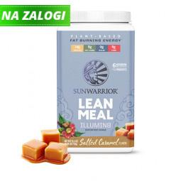 Sunwarrior Lean Meal mešanica za pripravo nadomestka obroka z okusom karamele, 720 g (prehransko dopolnilo)