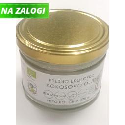 Presno ekološko kokosovo olje, 260 ml