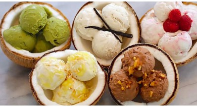 20 receptov za sladoled brez mleka