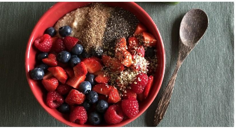 Zajtrk športnika na rastlinski pogon pred treningom