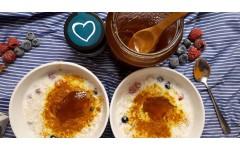 Zlata ovsena kaša ali jesensko-zimski zajtrk proti stresu