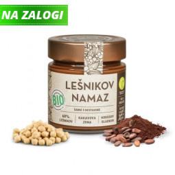 Lešnikov namaz 20 chocolate - bio
