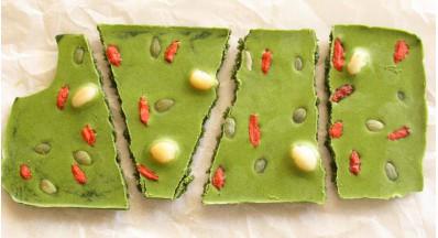 Čokolada z zelenim MATCHA čajem