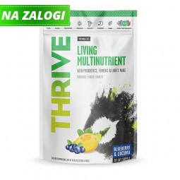 Multivitaminska mešanica Thrive borovnica in lucuma, 112 g