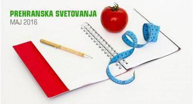 Prehranska svetovanja v trgovini SuperHrana, maj 2016