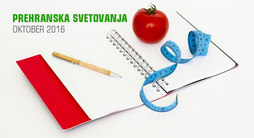 Prehranska svetovanja v trgovini SuperHrana, oktober 2016