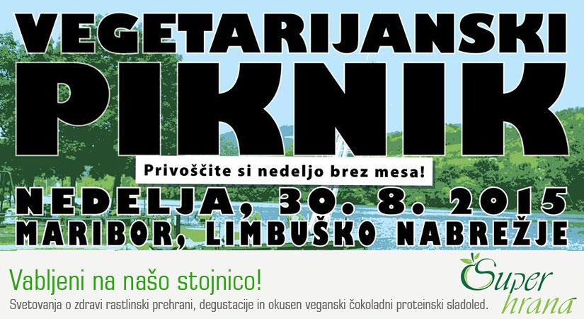 Največji vegetarijanski piknik v Sloveniji - 30. 8. 2015