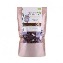Ekološka presna granola z okusom čokolade in banane