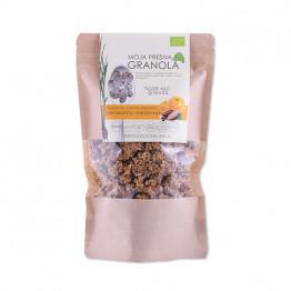 Ekološka presna granola z okusom pomaranče in čokolade