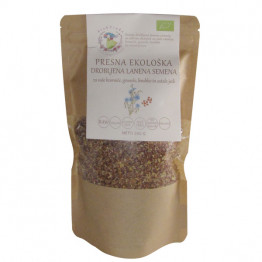 Presna ekološka drobljena lanena semena