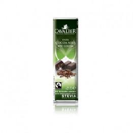 Cavalier temna čokolada z zrni kakava 85 %, z naravnimi sladili, 40 g