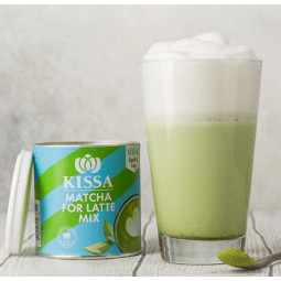 Matcha Latte Mix -  fresh and green, 120 g