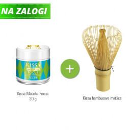 Paket Kissa Matcha Focus + Kissa bambusova metlica