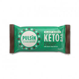 Presna keto proteinska tablica z meto, čokolado in arašidi, 50 g