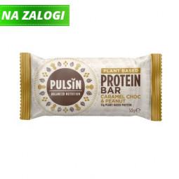 Presna proteinska tablica z okusom karamele, arašidov in čokolade