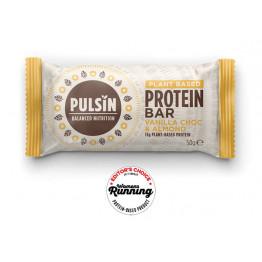 Presna proteinska tablica z okusom vanilije in koščki čokolade