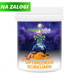 NatureVibe LongVida optimiziran kurkumin (25 g)