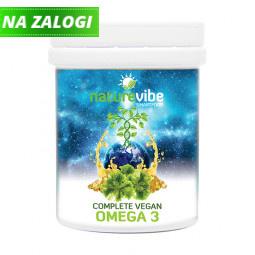NatureVibe Complete Vegan Omega 3 (60 kapsul)
