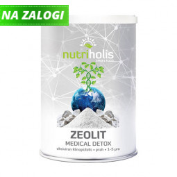 NutriHolis Zeolit Medical Detox, zeolit v prahu, 200 g