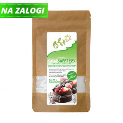Eritritol SugarSweet Ery (80% sladkost navadnega sladkorja), 400 g
