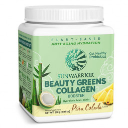 Sunwarrior Beauty greens kolagen booster z okusom pina-colade