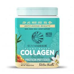 Sunwarrior rastlinski kolagen gradniki, okus tahitijska vanilija – prehransko dopolnilo, 500 g