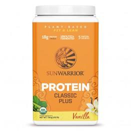 Sunwarrior Classic PLUS rastlinski proteini - Vanilija, 750 g