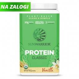 Sunwarrior Classic rastlinski proteini - Vanilija, 750 g