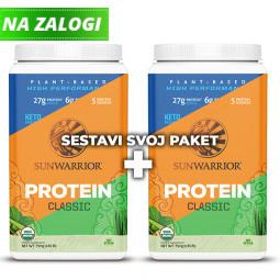 Sunwarrior srednji proteinski paket 2-pack 2 x 750 g