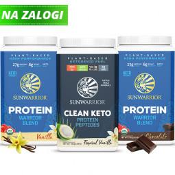Sunwarrior veliki proteinski paket 3-pack 3 x 750 g