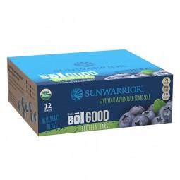 Sol Good Bar paket proteinskih tablic z okusom borovnice, 12 x 62 g