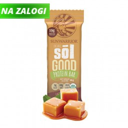 Sunwarrior Sol Good Bar tablica z okusom slane karamele, 66 g