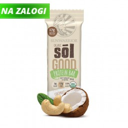 Sol Good Bar tablica z okusom kokosa in indijskih oreščkov, 62 g