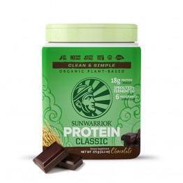 Sunwarrior Classic rastlinski proteini - Čokolada, 375 g