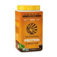 Sunwarrior Classic PLUS rastlinski proteini - Čokolada, 750 g
