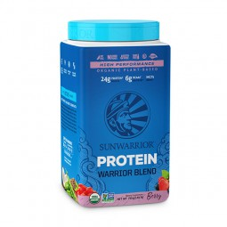 Sunwarrior Warrior Blend rastlinski proteini - Jagodičevje, 750 g
