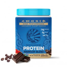 Sunwarrior Warrior Blend rastlinski proteini - Mocha, 375 g
