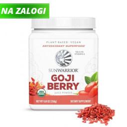 Sunwarrior ekološki sok goji jagod v prahu, 250 g